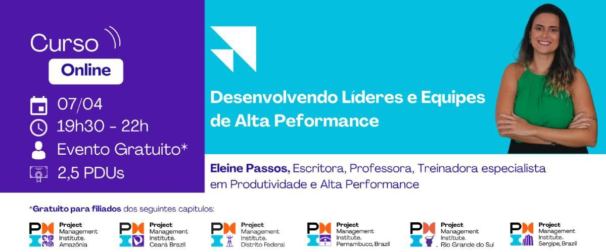 Curso Online | Desenvolvendo Líderes e Equipes de Alta Performance